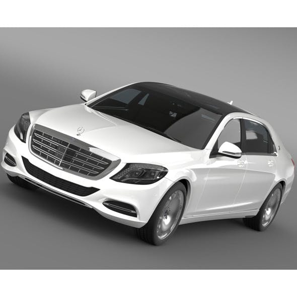 Mercedes Maybach S400 X222 2015 - 3DOcean Item for Sale