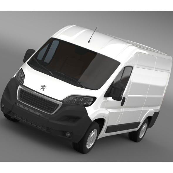 Peugeot Boxer Van L2H2 2014