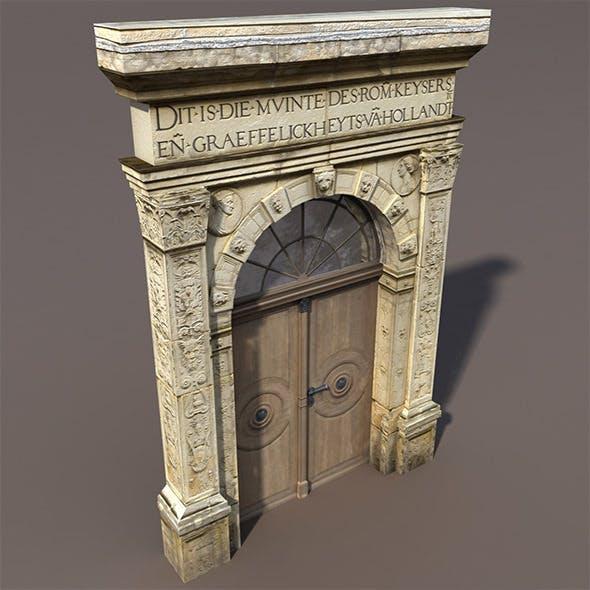 Door Portal Low Poly 3d model