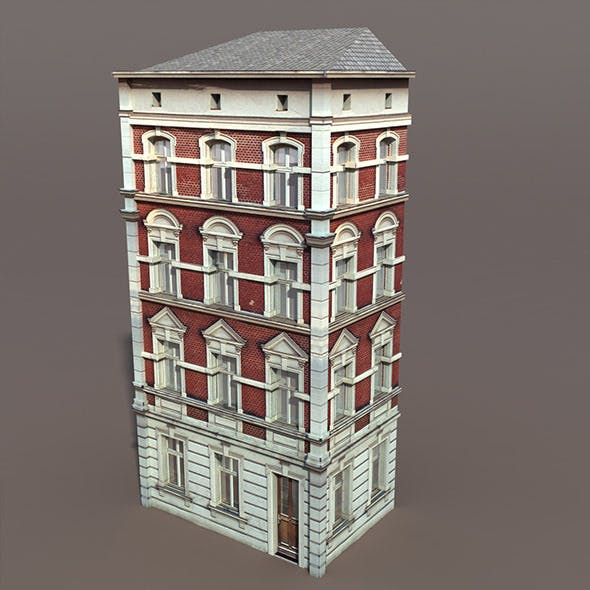 Apartment House #101 Low Poly 3d Model