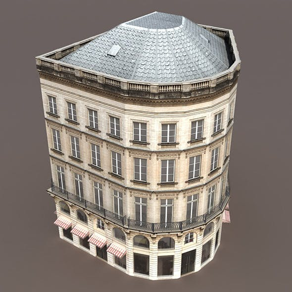 Apartment House #108 Low poly 3d Model - 3DOcean Item for Sale