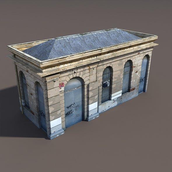 Building Low poly 3d Model