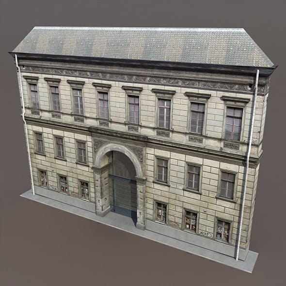 Apartment Building #120 Low Poly 3d Model - 3DOcean Item for Sale
