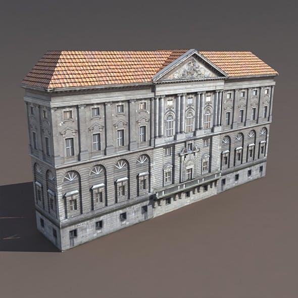 Apartment House #121 Low Poly 3d Building - 3DOcean Item for Sale