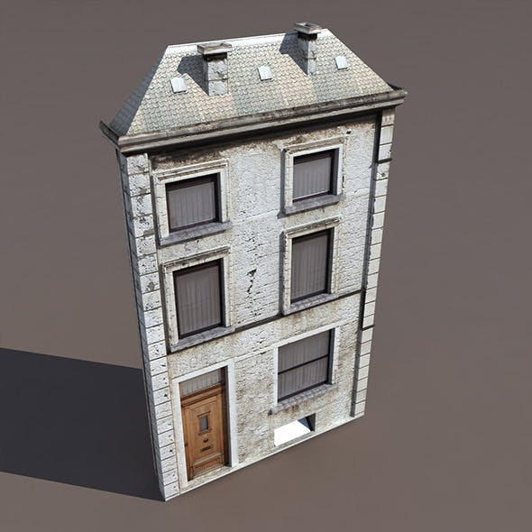 Apartment House #123 - 3DOcean Item for Sale
