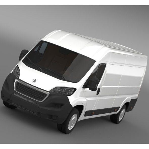 Peugeot Boxer Van L4H2 2014 - 3DOcean Item for Sale
