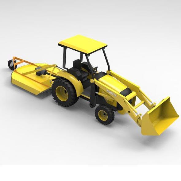 Concept Car Kubota Tractor
