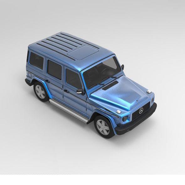 Concept Car Mercedes-Benz W463 - 3DOcean Item for Sale