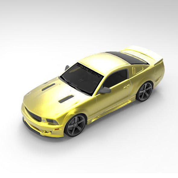 Concept Car Saleen S281 Extreme - 3DOcean Item for Sale