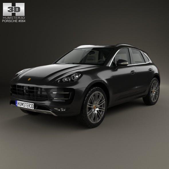 Porsche Macan Turbo 2014 - 3DOcean Item for Sale