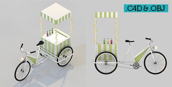 Food Bicycle Lemonade - 3DOcean Item for Sale