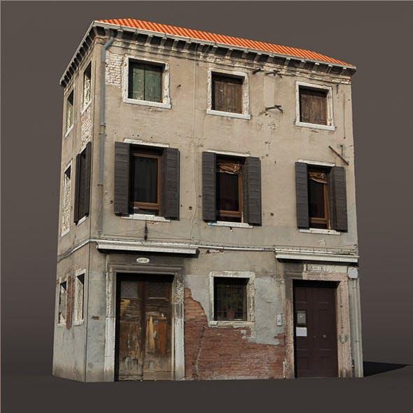 Apartment Building Venice Low Poly - 3DOcean Item for Sale