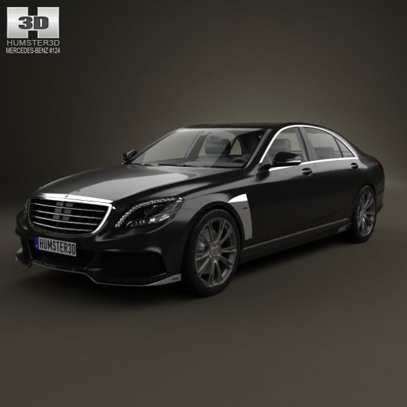 Mercedes-Benz S-Class (W222) Brabus 2014 - 3DOcean Item for Sale