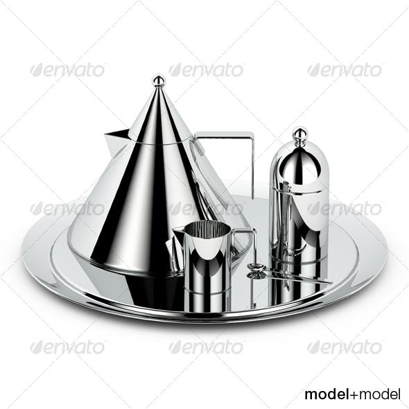 Alessi il conico tea set