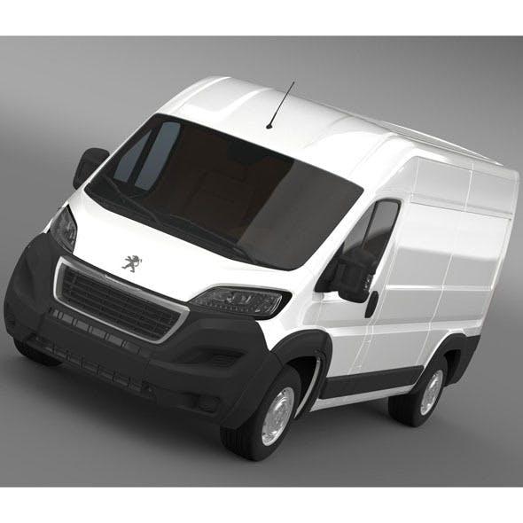 Peugeot Manager Furgon L2H2 2014 - 3DOcean Item for Sale