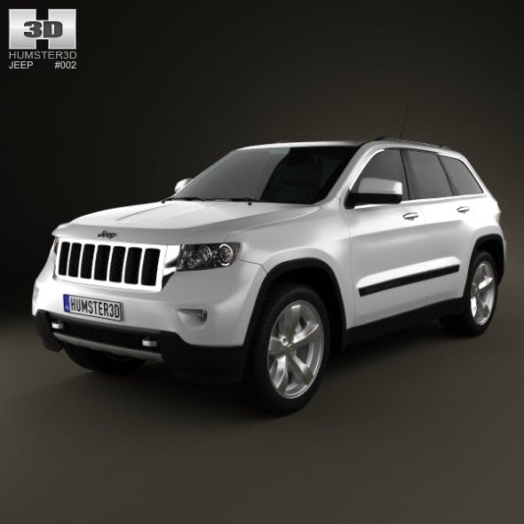 Jeep Grand Cherokee 2011 - 3DOcean Item for Sale
