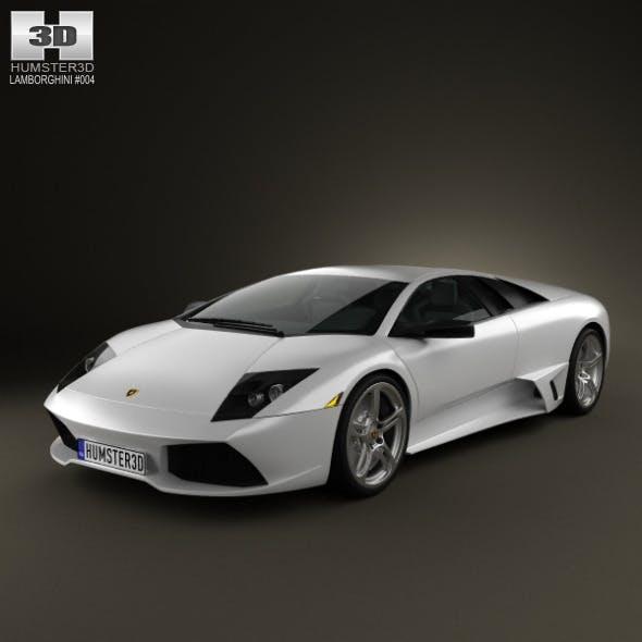 Lamborghini Murcielago LP640 2006 - 3DOcean Item for Sale