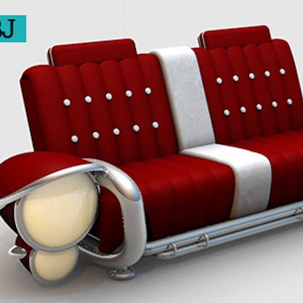 Classic Vintage Car Sofa