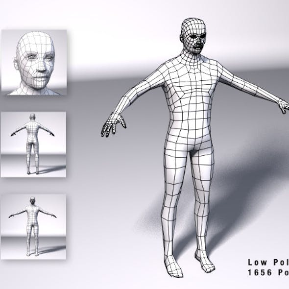 Low Poly Male