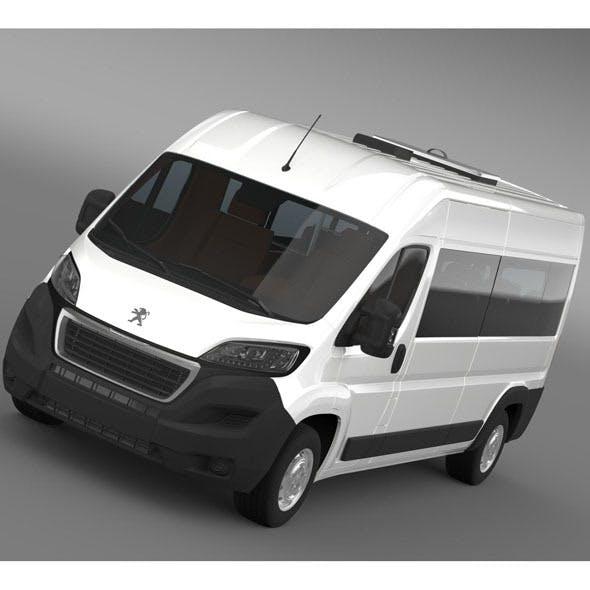 Peugeot Boxer Minibus 2014
