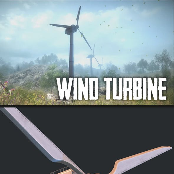 Wind Turbine CG Textures & 3D Models from 3DOcean