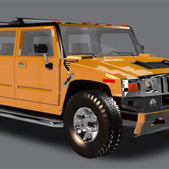 Element 3D Big Truck