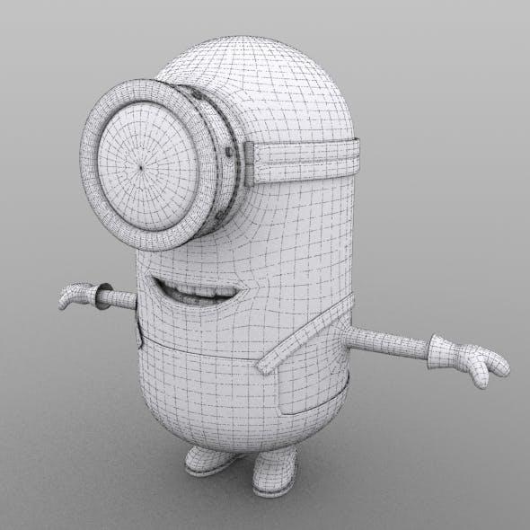 Minion model no  texture - 3DOcean Item for Sale