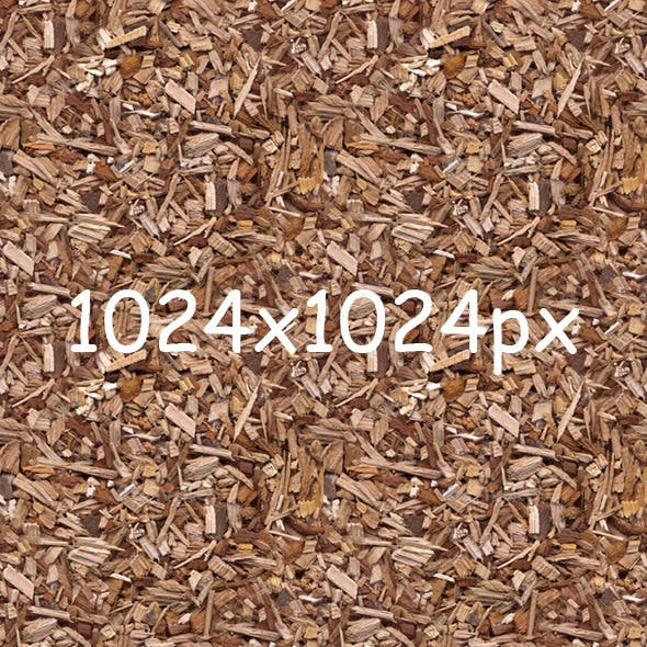 Wooden Mulch Texture - 3DOcean Item for Sale