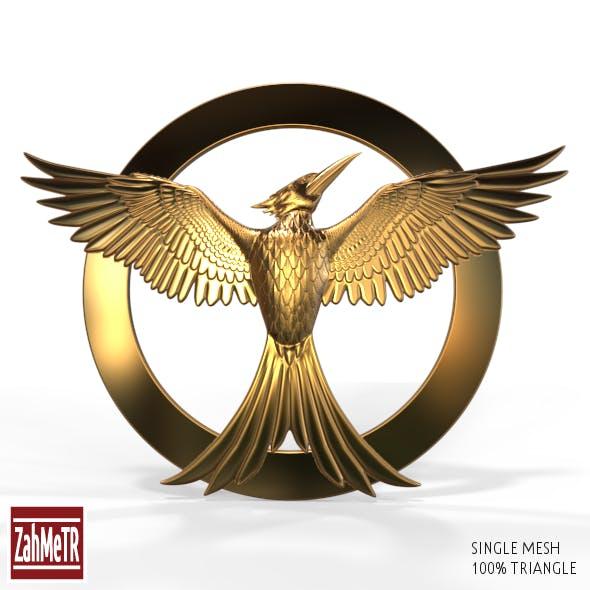 Mockingjay Bird 2 (Single Mesh 3D Model) - 3DOcean Item for Sale