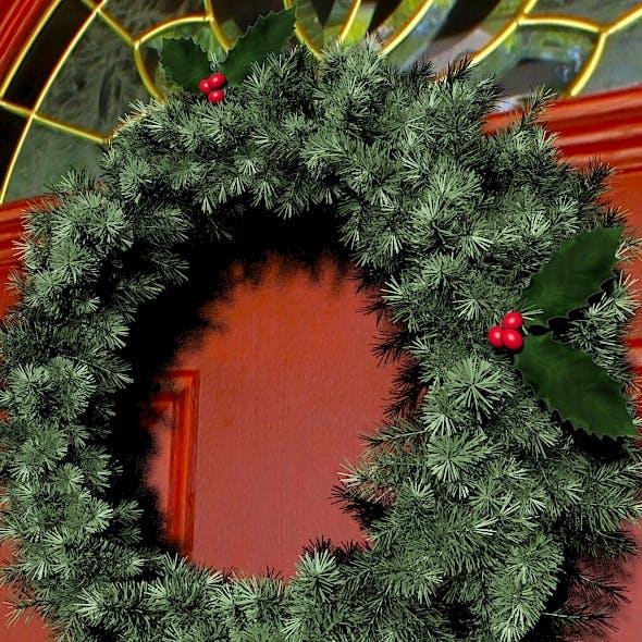 Christmas Wreath - 3DOcean Item for Sale