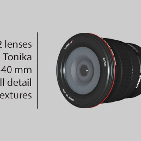 Lenses - TOKINA & 17-40 mm