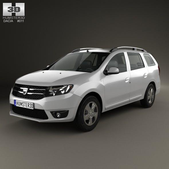 Dacia Logan MCV 2013 - 3DOcean Item for Sale