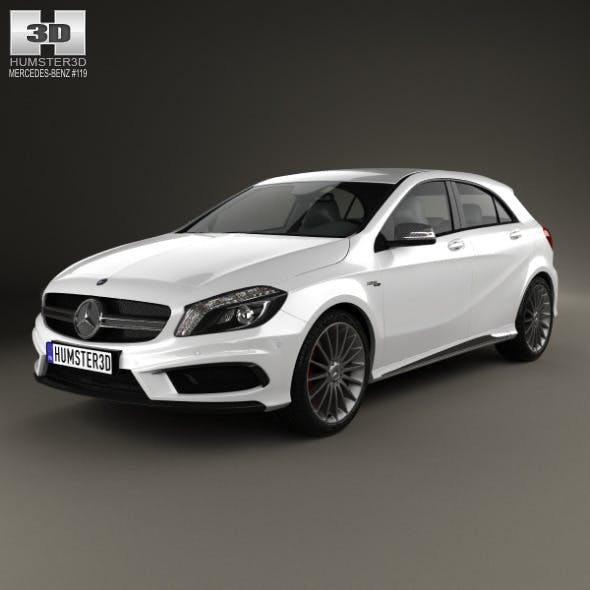 Mercedes-Benz A-class AMG 2013 - 3DOcean Item for Sale