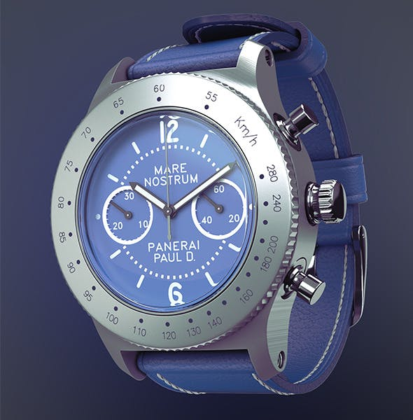HD Wrist Watch - 3DOcean Item for Sale