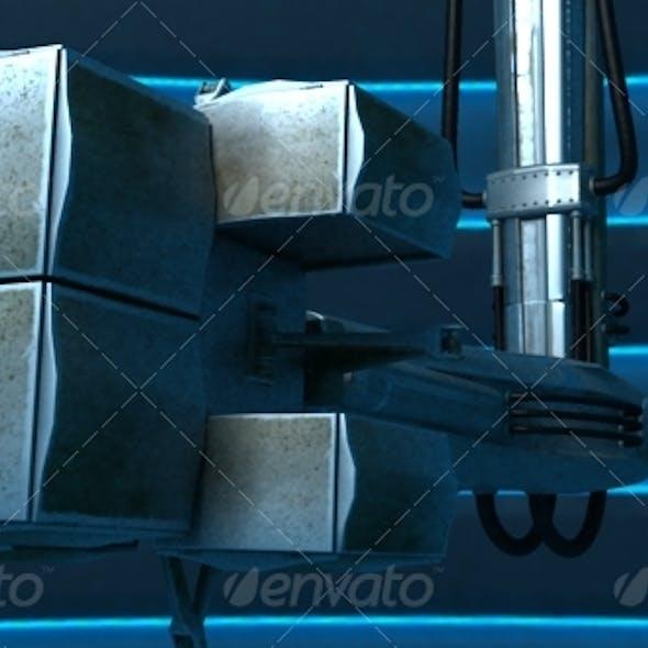 Robo Board 3DsMax scene