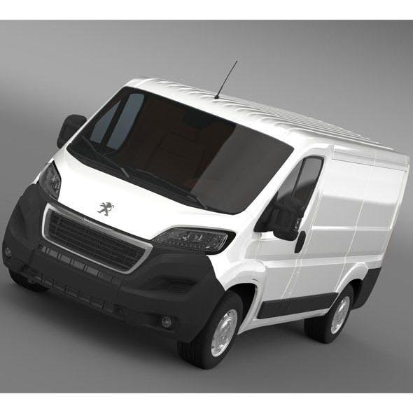 Peugeot Boxer Van  L1H1 2014 - 3DOcean Item for Sale