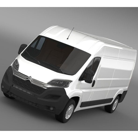 Citroen Relay Van L3H2 2015