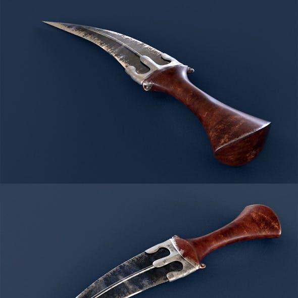 Realistic Jambiya Knife
