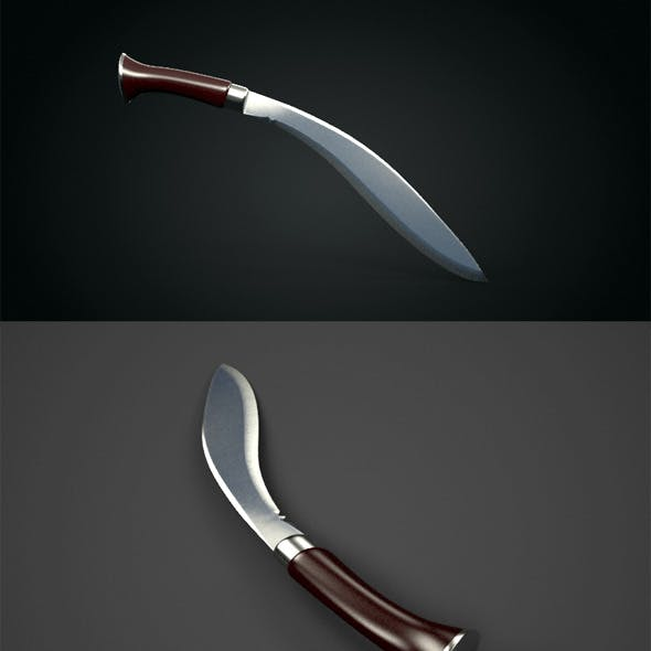 Realistic Kukri Knife