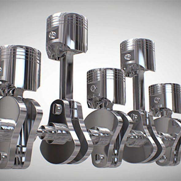 Car Engine Piston