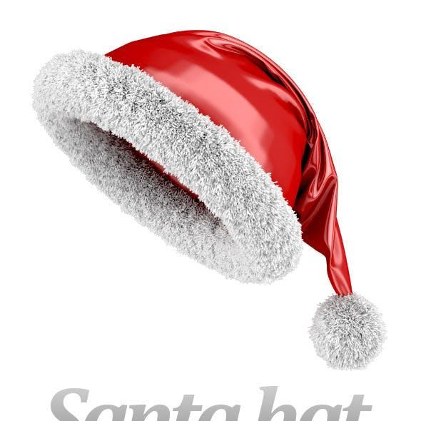 Santa hat scene