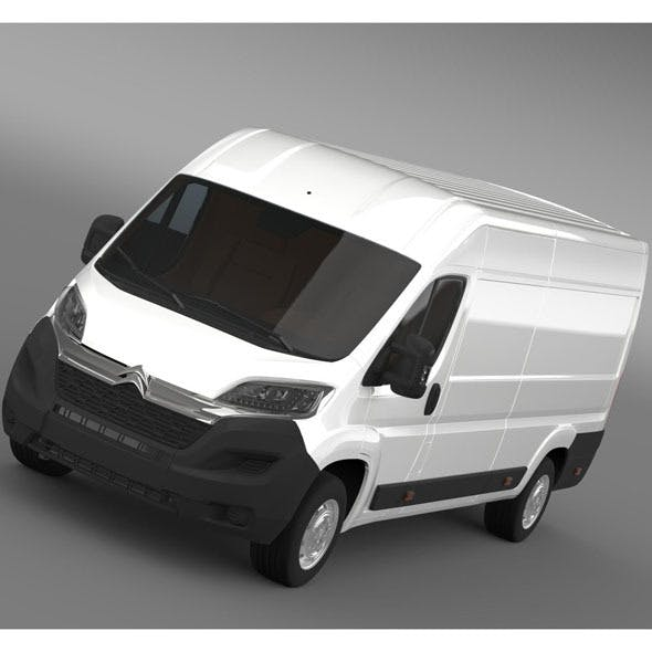 Citroen Relay Van L4H2 2015