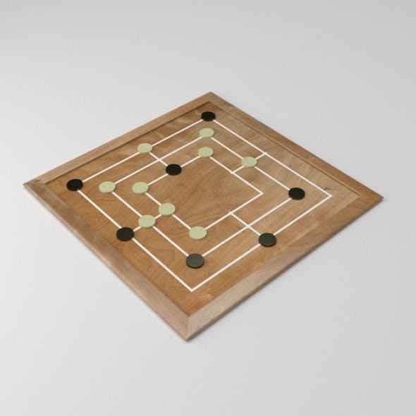 Morris Board Game