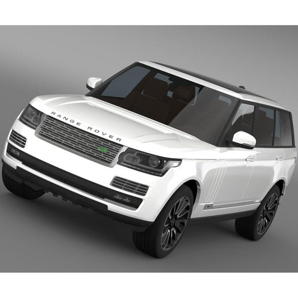 Range Rover Autobiography LWB L405 2014 By Creator_3d