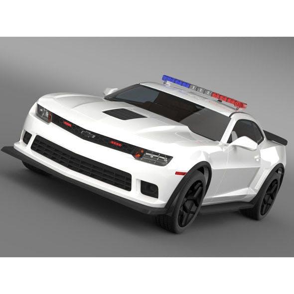 Chevrolet Camaro Z28 Police 2015 - 3DOcean Item for Sale