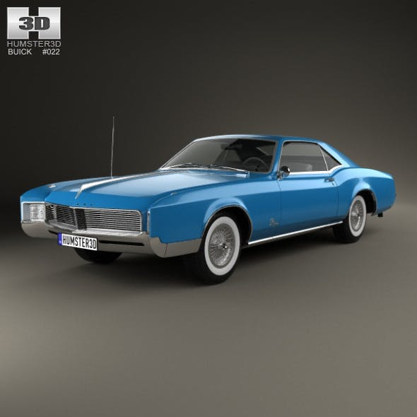 Buick Riviera 1966 - 3DOcean Item for Sale
