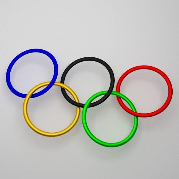 Olympic Rings by torsch75   3DOcean