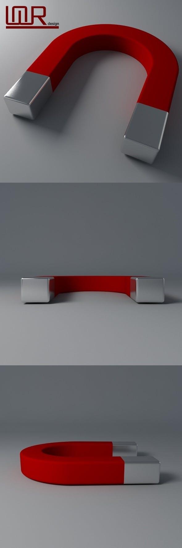 Magnet - 3DOcean Item for Sale
