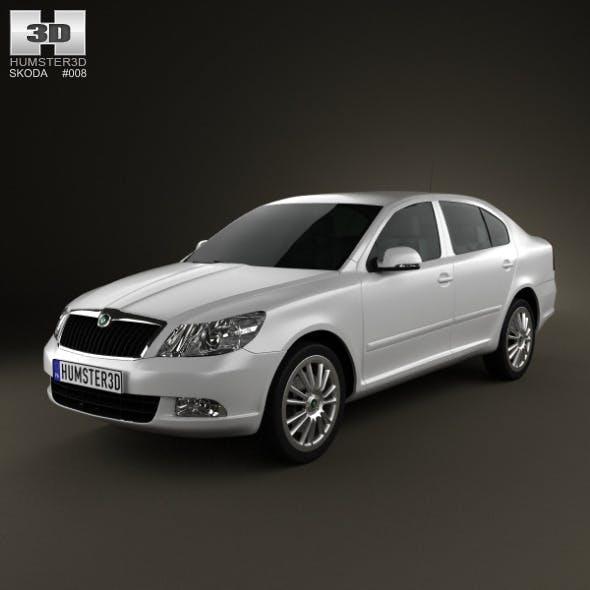 Skoda Octavia sedan 2009 - 3DOcean Item for Sale