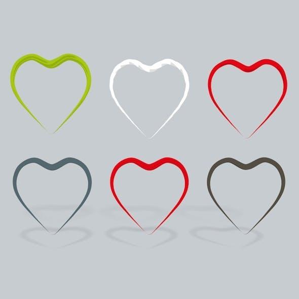 3D Heart open